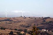 Foto di Donato Fasano Photoagency, nella foto : Vall'D'Agri pale eoliche