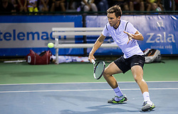 Sven Lah of Slovenia during Doubles 1st Round of ATP Challenger Tilia Slovenia Open 2016, on August 8, 2016 in Portoroz/Portorose, Slovenia. Photo by Vid Ponikvar / Sportida