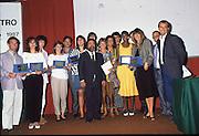 Scudetti 1987. Le premiazioni a Milano