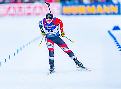 15.01.2020, Chiemgau Arena, Ruhpolding, GER, IBU Weltcup Biathlon, Sprint, Damen, im Bild Christina Rieder (AUT) // Christina Rieder of Austria during the women sprint competition of BMW IBU Biathlon World Cup at the Chiemgau Arena in Ruhpolding, Germany on 2020/01/15. EXPA Pictures © 2020, PhotoCredit: EXPA/ Stefan Adelsberger