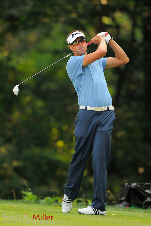 Robert Allenby during the second round of the AT&T National at Congressional Country Club on June 29, 2012 in Bethesda, Maryland. ..©2012 Scott A. Miller