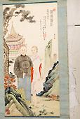 IB White China Silk Painting