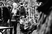 Sleeping vs social conversations. 12v Teknival, Bristol, July 2011