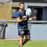 Calvisano 24/05/2018 <br /> Allenamento nazionale italiana di rugby<br /> Guglielmo Palazzani