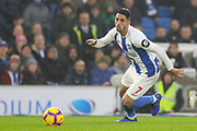 Brighton and Hove Albion midfielder Beram Kayal (7) during the Premier League match between Brighton and Hove Albion and Leicester City at the American Express Community Stadium, Brighton and Hove, England on 24 November 2018.
