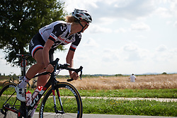 Pernille Mathiesen (DEN) at Boels Ladies Tour 2018 - Stage 5, a 159.7km road race in Sittard, Netherlands on September 1, 2018. Photo by Sean Robinson/velofocus.com