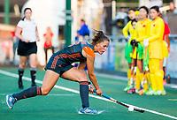BREDA - Pien Sanders (Ned)  tijdens Nederland-China bij de 4 Nations Trophy dames 2018 .     COPYRIGHT KOEN SUYK
