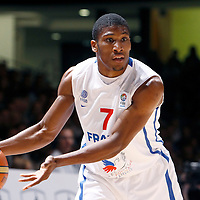27 August 2011: Andrew Albicy is seen during the friendly game won 74-44 by France over Belgium, in Lievin, France.
