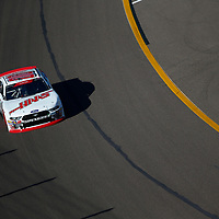 Cole Custer (00) takes to the track to practice for the Whelen Trusted to Perform 200 at ISM Raceway in Avondale, Arizona.