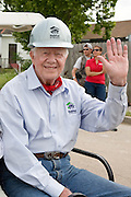 New Orleans Area Habitat for Humanity celebrates its 25th anniversary in the Ninth Ward with Rosalynn and President Jimmy Carter