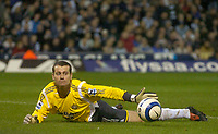 Photo: Glyn Thomas.<br />West Bromwich Albion. Newcastle Utd. The Barclays Premiership. 30/10/2005.<br /> Newcastle keeper Shay Given.