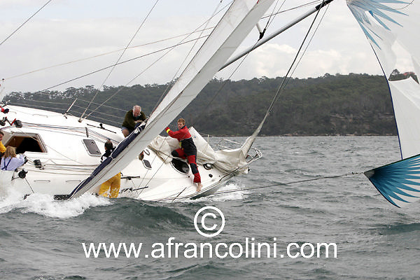 SAILING - BMW Winter Series 2005 - RUMBA - Sydney (AUS) - 15/05/05 - ph. Andrea Francolini