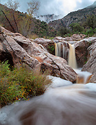 Waterfall, Romero Creek, Santa Catalina Mountains, Oro Valley