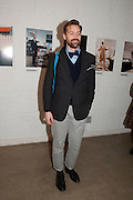 PATRICK GRANT, Wallpaper* Design Awards. Wilkinson Gallery, 50-58 Vyner Street, London E2, 14 January 2010 *** Local Caption *** -DO NOT ARCHIVE-© Copyright Photograph by Dafydd Jones. 248 Clapham Rd. London SW9 0PZ. Tel 0207 820 0771. www.dafjones.com.<br /> PATRICK GRANT, Wallpaper* Design Awards. Wilkinson Gallery, 50-58 Vyner Street, London E2, 14 January 2010