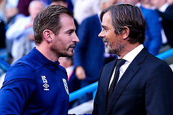 Huddersfield Town manager Jan Siewert and Derby County manager Phillip Cocu - Mandatory by-line: Robbie Stephenson/JMP - 05/08/2019 - FOOTBALL - The John Smith's Stadium - Huddersfield, England - Huddersfield Town v Derby County - Sky Bet Championship
