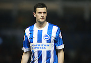 Brighton player Jamie Murphy during the Sky Bet Championship match between Brighton and Hove Albion and Reading at the American Express Community Stadium, Brighton and Hove, England on 15 March 2016. Photo by Bennett Dean.