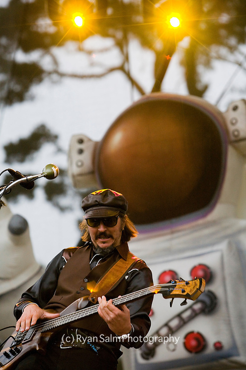 Les Claypool and Primus play a solid greatest hits set at the Twin Peaks Stage on Saturday. It was the band's first performance at Golden Gate Park.