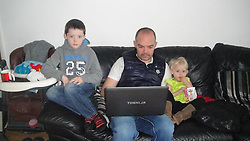 © Licensed to London News Pictures. 05/03/2012. Bolton, UK. Collect picture of father of three Anthony Grainger (middle), 35, of Bolton, who died as a result of a single gunshot wound to the chest, during a police operation in Culcheth, Cheshire, on the evening of Saturday 3rd March 2012. Three men have been charged with conspiracy to commit robbery. The IPCC are investigating the death. An inquest is due to take place at Warrington Coroners Court today (5th March). Photo credit : LNP