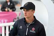 Somerset captain Tom Abell during the Specsavers County Champ Div 1 match between Somerset County Cricket Club and Essex County Cricket Club at the Cooper Associates County Ground, Taunton, United Kingdom on 25 September 2019.