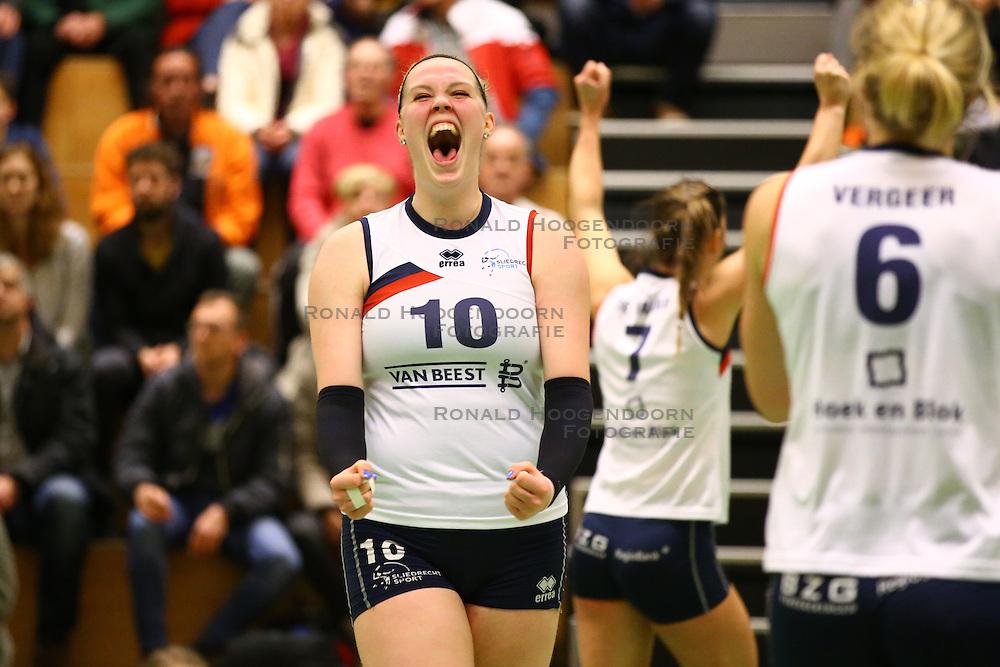 20160319 NED: Volleybal: Sliedrecht Sport - Springendal Set Up 65, Sliedrecht<br />Marlies Wagendorp