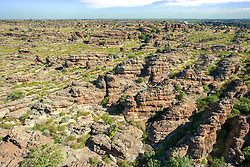 An aerial view of the ancient Devonian Reef near Fitzroy Crossing, in the Kimberley region of Western Australia.