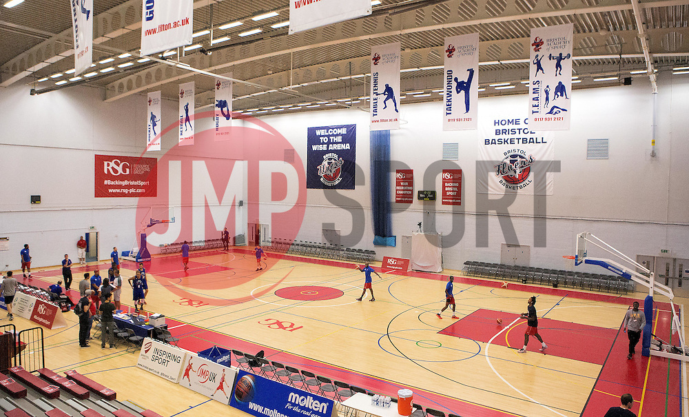 A General View of the SGS Arena - Mandatory by-line: Robbie Stephenson/JMP - 08/09/2016 - BASKETBALL - SGS Arena - Bristol, England - Bristol Flyers v USA Select - Preseason Friendly
