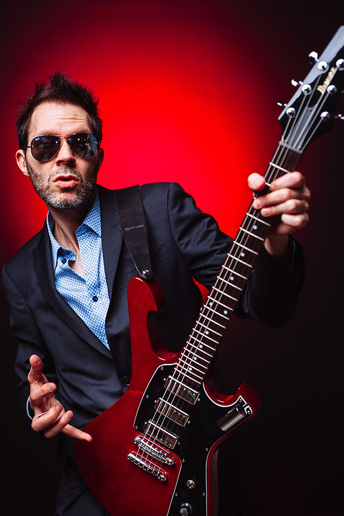 Paul Gilbert, April 2018. Photo by Jason Quigley.