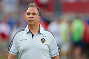 FRISCO, TX - AUGUST 11:  Head coach Bruce Arena of the Los Angeles Galaxy looks on before kickoff against FC Dallas on August 11, 2013 at FC Dallas Stadium in Frisco, Texas.  (Photo by Cooper Neill/Getty Images) *** Local Caption *** Bruce Arena