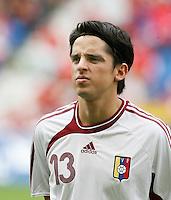 Fussball International Laenderspiel Schweiz - Venezuela Leonel VIELMA (VEN)