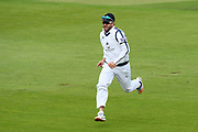 Sean Ervine of Hampshire chasing a ball to the boundary during the Specsavers County Champ Div 1 match between Hampshire County Cricket Club and Surrey County Cricket Club at the Ageas Bowl, Southampton, United Kingdom on 6 September 2017. Photo by Graham Hunt.