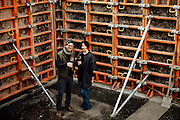 Jim German and Ali Mayfield standing in the future home of their new restaurant and winery Passotempo and The Walls Vineyard in Walla Walla, Washington