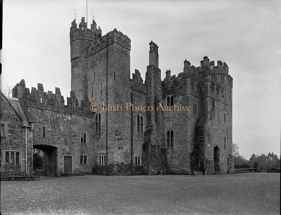 28 02 1960 kilkea castle co kildare b748 for Kildare castle