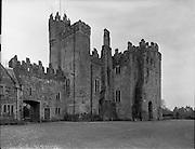 Kilkea Castle, Castledermot, Co. Kildare.28.02.1961