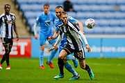 Notts County midfielder Jorge Grant (10), on loan from Nottingham Forest, with his eye on the ball during the EFL Sky Bet League 2 match between Coventry City and Notts County at the Ricoh Arena, Coventry, England on 12 May 2018. Picture by Simon Davies.