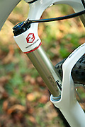 Bicycle `buyer magazine hybrids, mtbs shoot. London, Sept 2011 Trek hardtail mountain bike