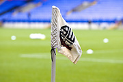 Bolton Wanderers flag, EFL Sky Bet League 1 match between Bolton Wanderers and Coventry City at the University of  Bolton Stadium, Bolton, England on 10 August 2019.