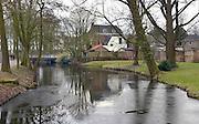 Nederland, Wageningen, 13-3-2013Park met water in het centrum van de stad.Het stadje aan de rijn heeft de universiteit,wur, en er is de capitulatie van de duitse troepen getekend in 1945.Foto: Flip Franssen/Hollandse Hoogte
