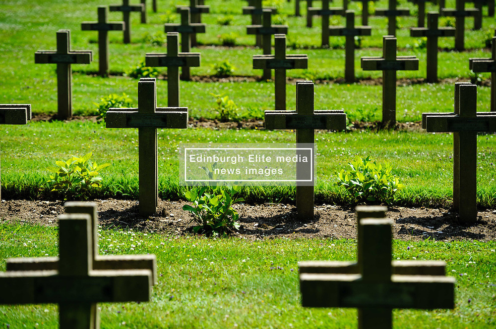 French WW1 Military Cemetary at Lachalade in a forest near Verdun, France<br /> <br /> (c) Andrew Wilson | Edinburgh Elite media