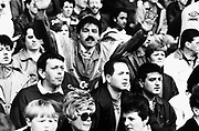 Football Supporters, Chelsea Football Club, London, U.K 1980's.