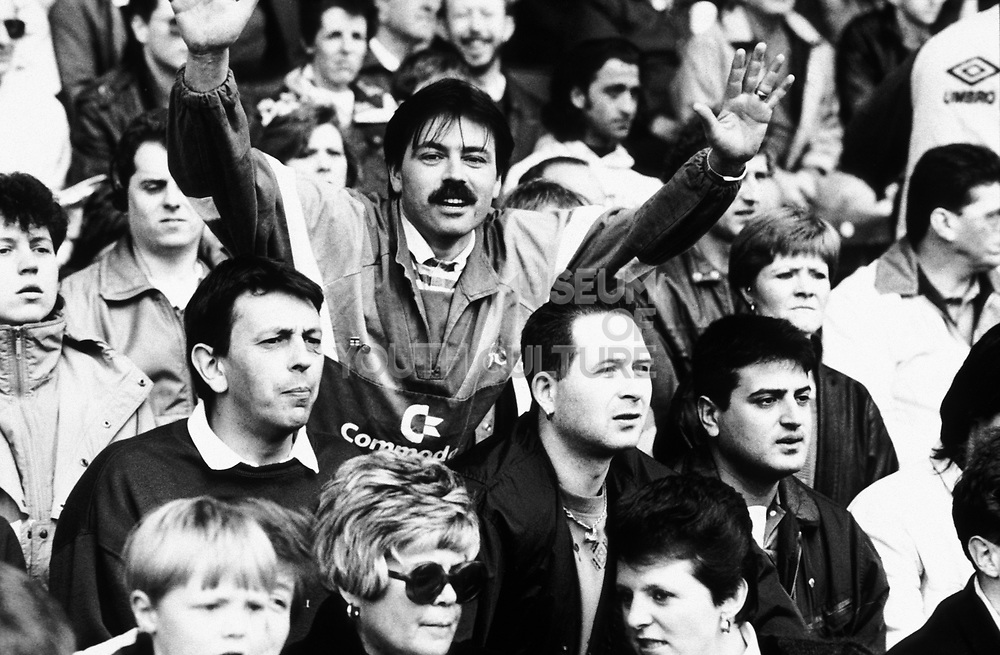 Football Supporters, Chelsea Football Club, London, U.K 1980's.