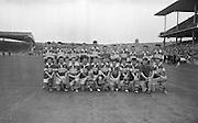 All Ireland Minor Football Final Kerry v. Westmeath, Croke Park..Kerry Minor Football Team.The Victorious Minor Team.22.09.1963