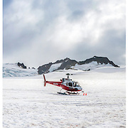 Helicopter Dogsledding Triptych