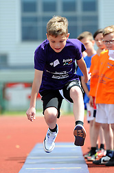 Children practise their Long Jump - Photo mandatory by-line: Dougie Allward/JMP - Mobile: 07966 386802 - 06/06/2015 - SPORT - Multi-Sport - Bristol - SGS Wise Campus - Bristol Sport Festival Of Youth Sport - Festival Of Youth