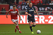 Leeds United defender Luke Ayling on the attack during  the EFL Sky Bet Championship match between Bristol City and Leeds United at Ashton Gate, Bristol, England on 9 March 2019.