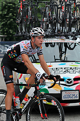 Pro-cyclist compete at a 73.8miles/118.7km course for the UCI Women's World Tour and 110.7miles/178.2km for the UCI 1.1 Men's America Tour during the Philadelphia Cycling Classic on Sunday June 5th, 2016, in Philadelphia Pennsylvania