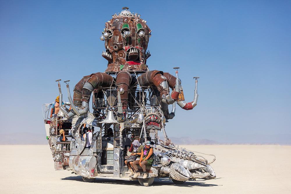 El Pulpo Mecanico Mutant Vehicle