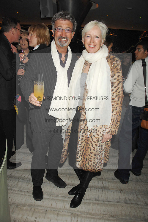 EDDIE & MARIE JORDAN at the launch party for 'The End of Summer Ball' in Berkeley Square held at Nobu Berkeley, 15 Berkeley Street, London on 7th April 2008.<br /><br />NON EXCLUSIVE - WORLD RIGHTS