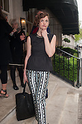 RUTH WILSON, Vanity Fair Lunch hosted by Graydon Carter. 34 Grosvenor Sq. London. 14 May 2013