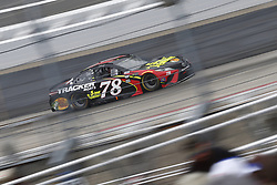 May 6, 2018 - Dover, Delaware, United States of America - Martin Truex, Jr (78) battles for position during the AAA 400 Drive for Autism at Dover International Speedway in Dover, Delaware. (Credit Image: © Justin R. Noe Asp Inc/ASP via ZUMA Wire)