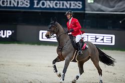 SCHWIZER Pius (SUI), Living the Dream<br /> Stuttgart - German Masters 2018<br /> Mercedes German Master CSI5*-W Stechen<br /> 16. November 2018<br /> © www.sportfotos-lafrentz.de/Stefan Lafrentz